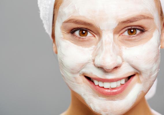 Кефирные маска для лица