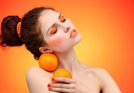 Маски из апельсина улучшающие цвет лица