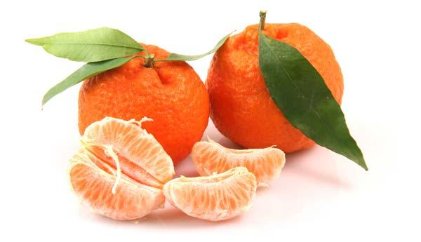 Питательная маска из мандаринов