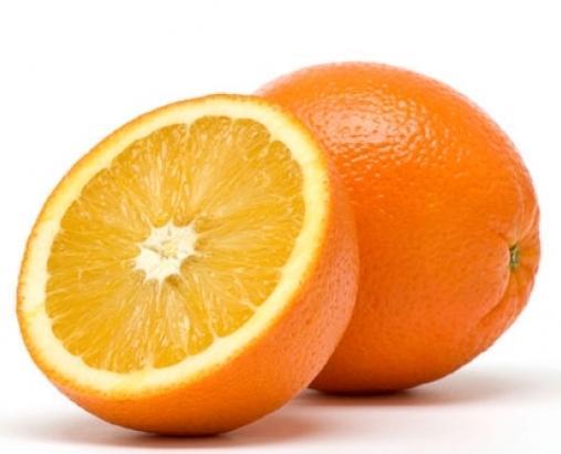 Маска из апельсина для сужения пор