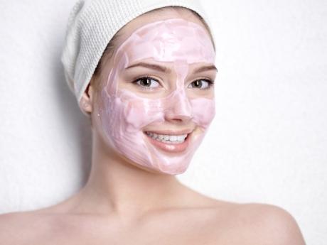 Содовая маска для лица от угрей
