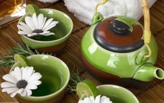 маски для лица из зелёного чая
