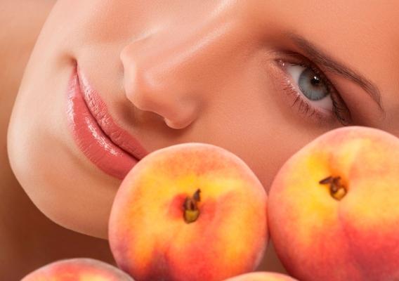 рецепты масок для лица из персиков