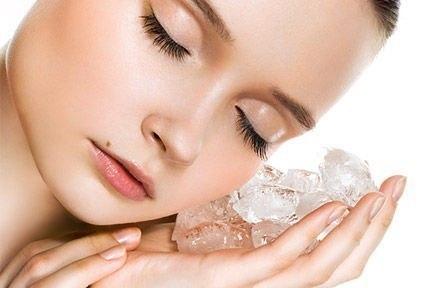 Ледяные кубики для кожи лица
