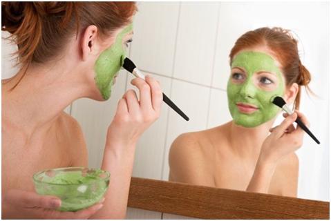 маски для лица из мяты