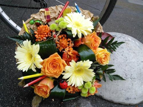 Цветы для учителей на день учителя своими руками