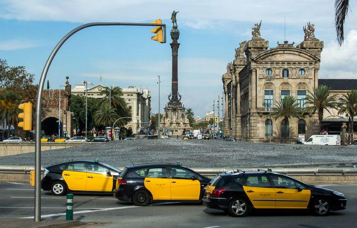 Русское такси и трансфер в Барселоне