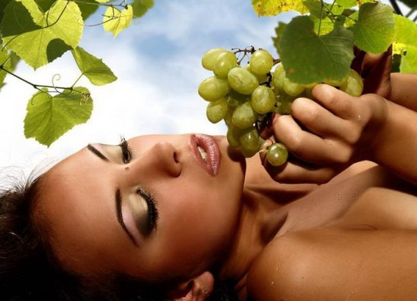 маски для лица из винограда